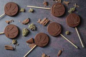 cannabis infused lollipops